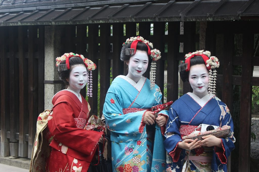 日本遊學好處:藝伎