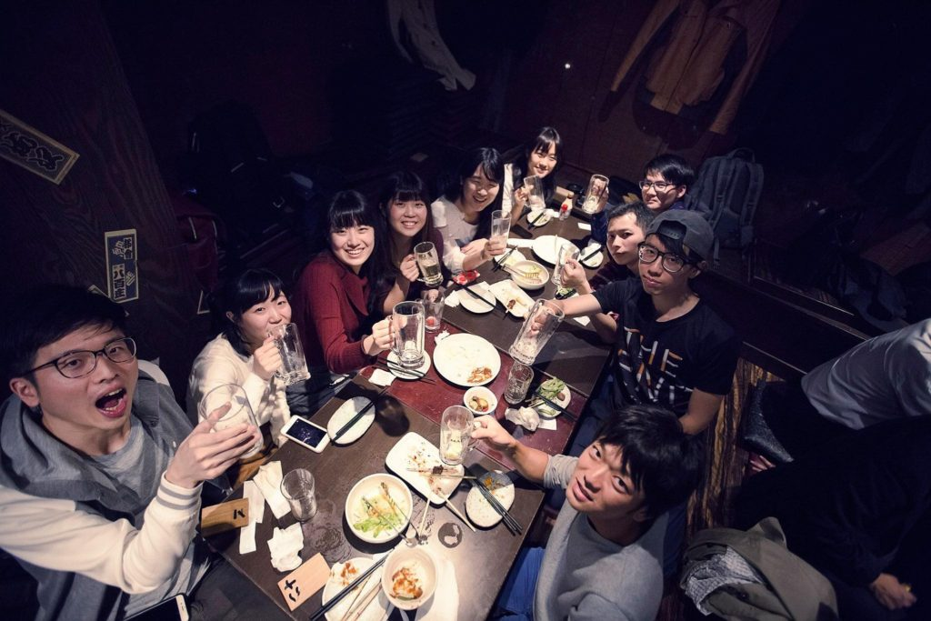 日本實習聚餐