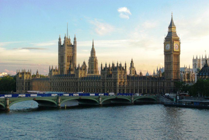英國國會一景